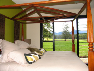 valley view hideaway cottage northern nsw australia